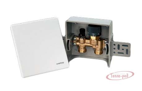 Купить Регулирующий узел для одного контура теплого пола Oventrop Unibox