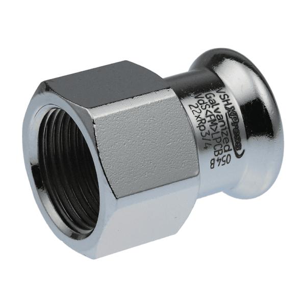 Купить Соединитель с внутренней резьбой Steel 28×1,5 G3/4″