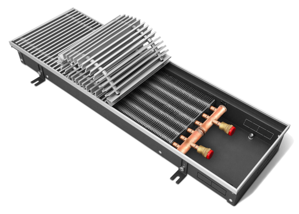Купить Внутрипольный конвектор KVZ 300-105-800