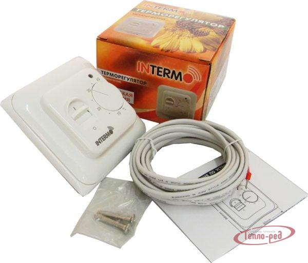 Купить Терморегулятор для теплого пола механический INTERMO M-102