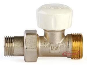 Купить Клапан термостатический для радиатора 1/2″х3/4″ евроконус прямой GF