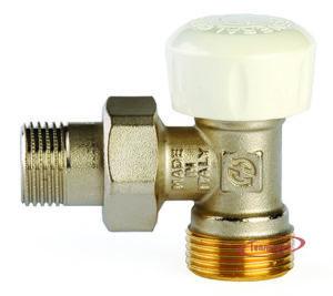 Купить Клапан термостатический для радиатора 1/2″х3/4″ евроконус угловой GF