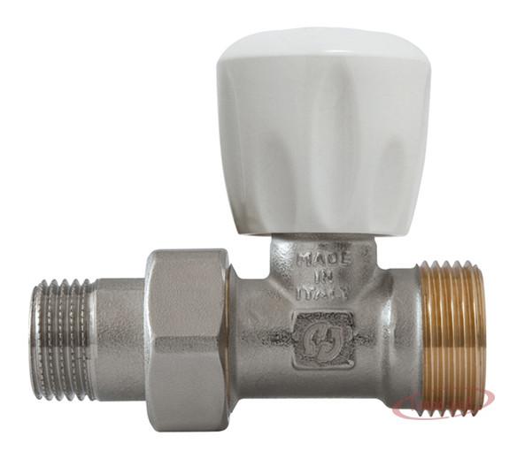 Купить Вентиль ручной для радиатора 1/2″х3/4″ евроконус прямой GF