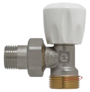 Купить Вентиль ручной для радиатора 1/2″х3/4″ евроконус угловой GF
