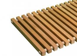 Купить Декоративная рулонная решетка Бриз (Дуб, бук без лакового покрытия, цвет втулок бежевый) шаг 10