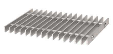 Купить Решетка рулонная алюминиевая 114D 300-2300