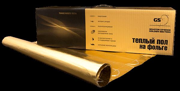 Купить Нагревательный двужильный мат на фольге GS (Золотое сечение)