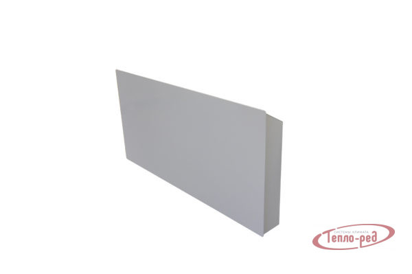 Купить Горизонтальный дизайн-радиатор SAVVA DRH 1012 55 мм с панелью STL