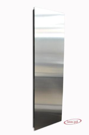 Купить Вертикальный дизайн-радиатор SAVVA DRV 649 с панелью Mirror Silver