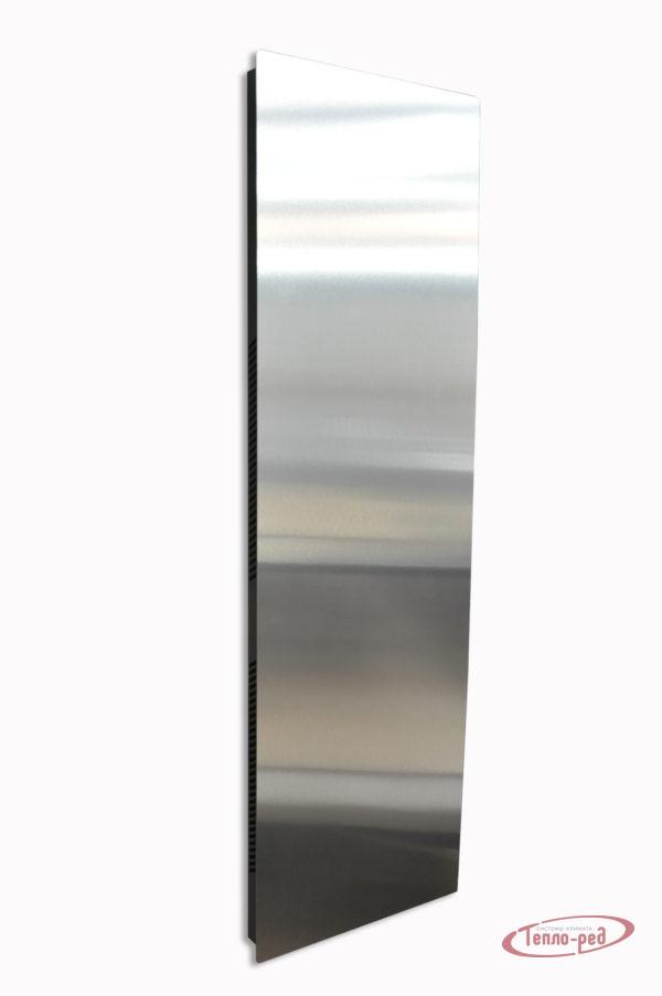 Купить Вертикальный дизайн-радиатор SAVVA DRV 1241 с панелью Mirror Silver