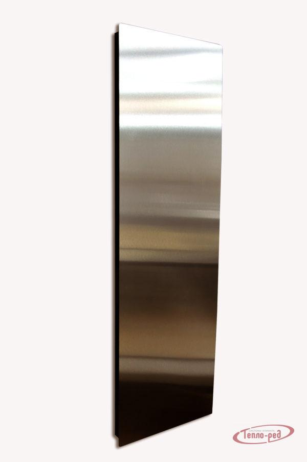 Купить Вертикальный дизайн-радиатор SAVVA DRV 2255 600 мм с панелью Mirror Bronze