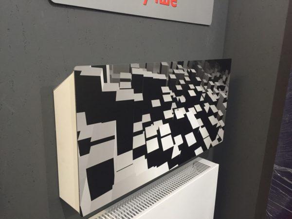 Купить Горизонтальный дизайн-радиатор SAVVA DRH 608 55 мм с панелью Decor