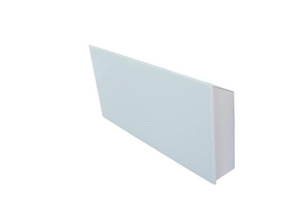 Купить Горизонтальный дизайн-радиатор SAVVA DRH 489 55 мм с панелью Glass