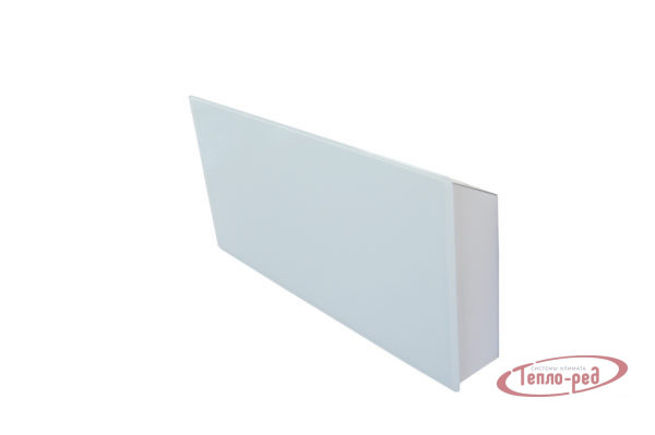 Купить Горизонтальный дизайн-радиатор SAVVA DRH 1724 55 мм с панелью Glass