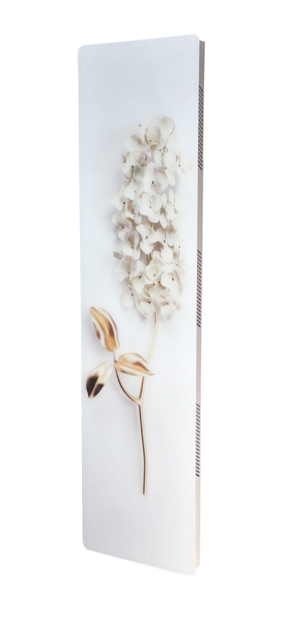 Купить Вертикальный дизайн-радиатор SAVVA DRV 649 с панелью Glass