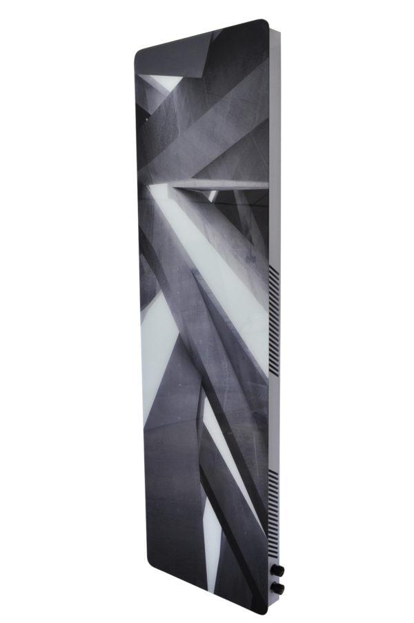 Купить Вертикальный дизайн-радиатор SAVVA DRV 1241 с панелью Glass